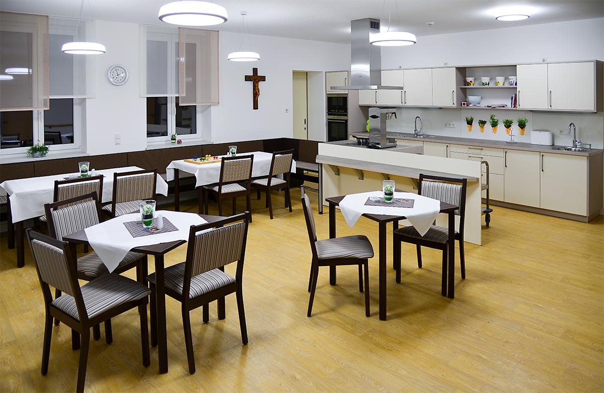 Tagespflegeräume bei den Katholischen Altenpflegeheimen im Eichsfeld