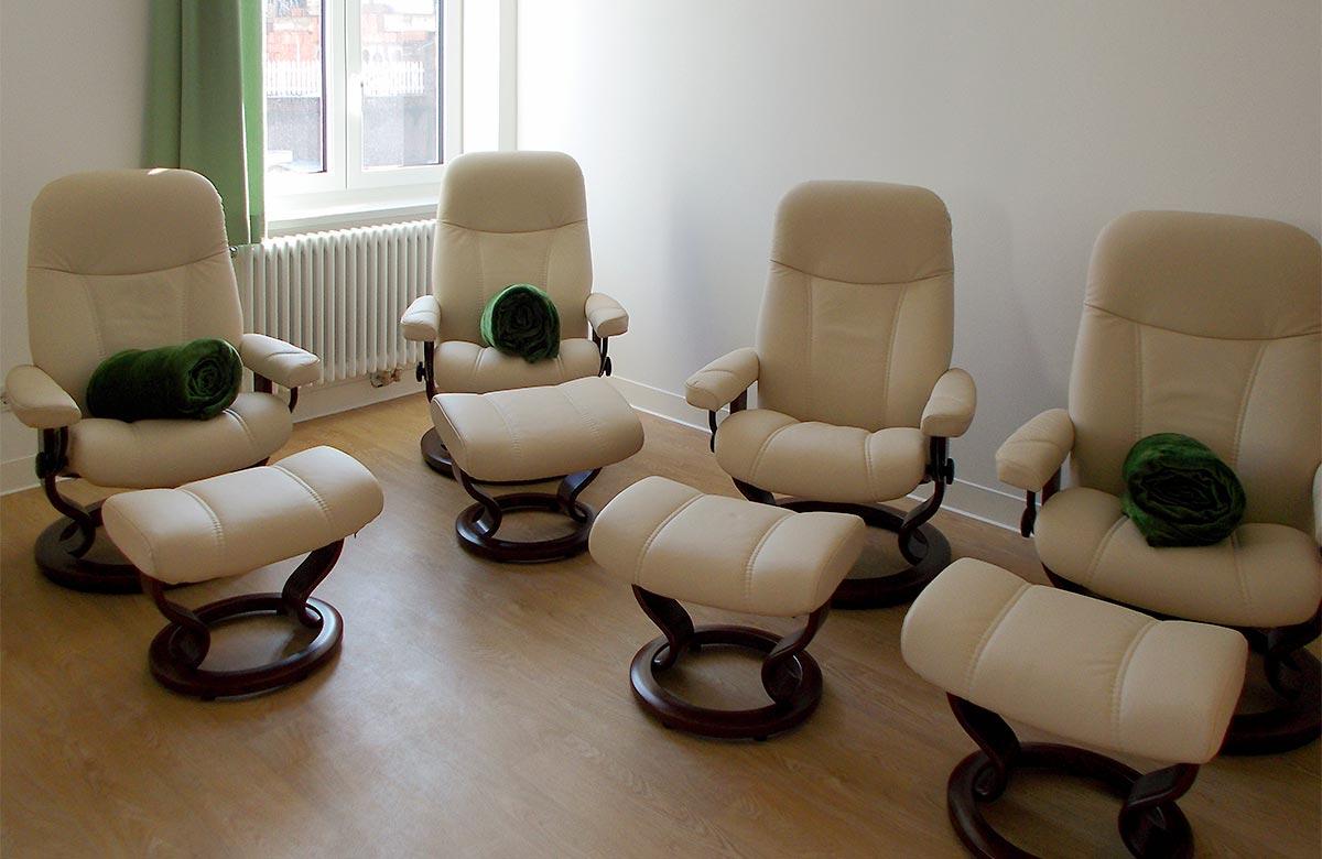 Stressless-Sessel bei den Katholischen Altenpflegeheimen im Eichsfeld