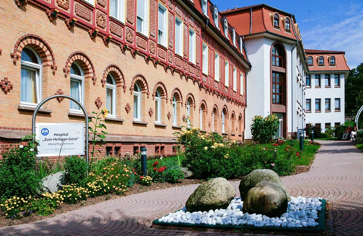 """Ansicht des Altenpflegezentrum Hospital """"Hl. Geist"""" in Heilbad Heiligenstadt"""
