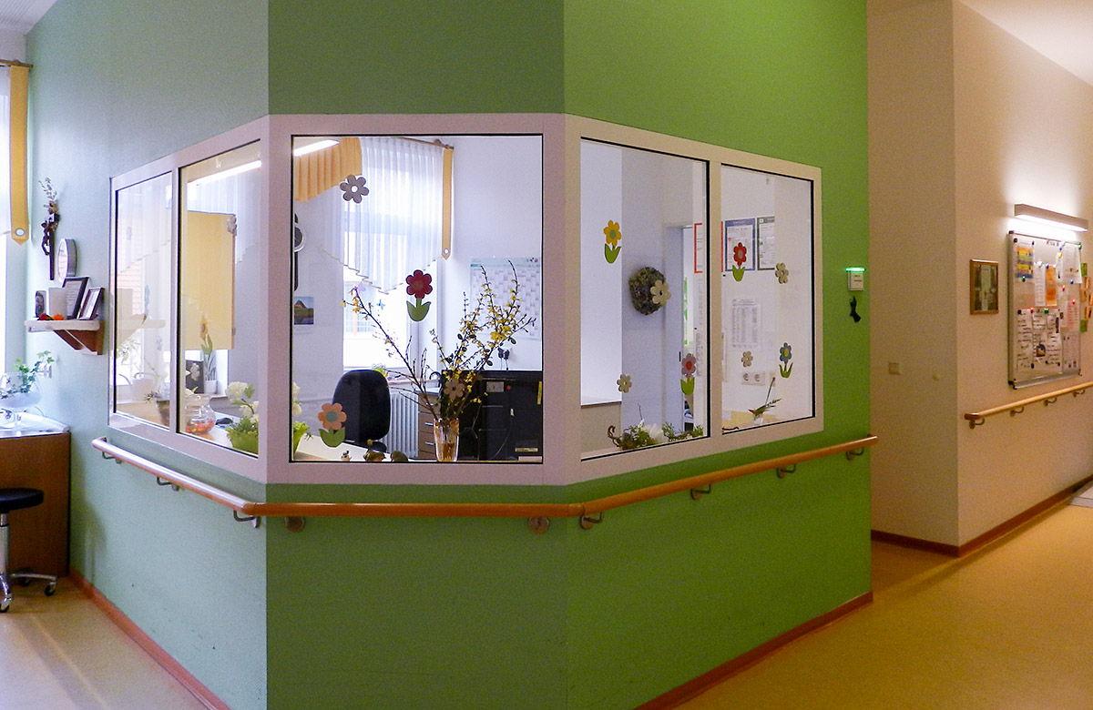 """Schwesternzimmer des Altenpflegezentrum Hospital """"Hl. Geist"""" in Heilbad Heiligenstadt"""