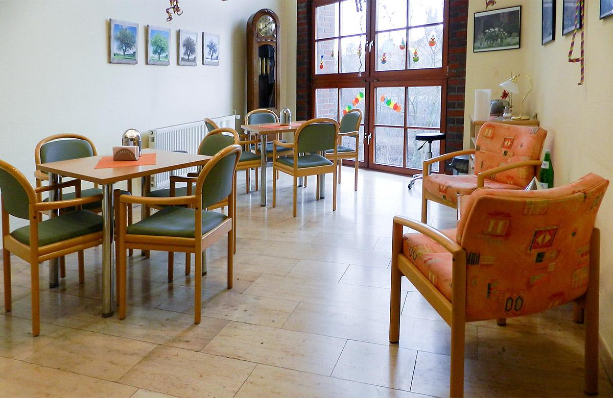 """Sitzecke des Altenpflegezentrum Hospital """"Hl. Geist"""" in Heilbad Heiligenstadt"""